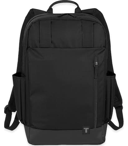 "Tranzip 15"" Computer Backpack - Black"