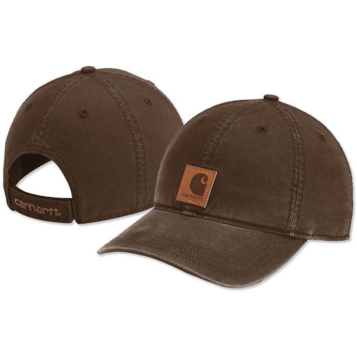 71e23dace93e8 Custom Carhartt Odessa Washed Canvas Hat - Design Premium Hats ...