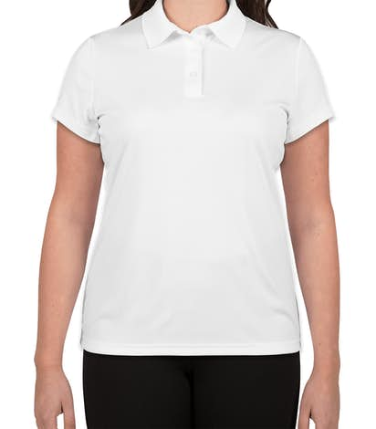 Hanes Women's Cool Dri Performance Polo - White