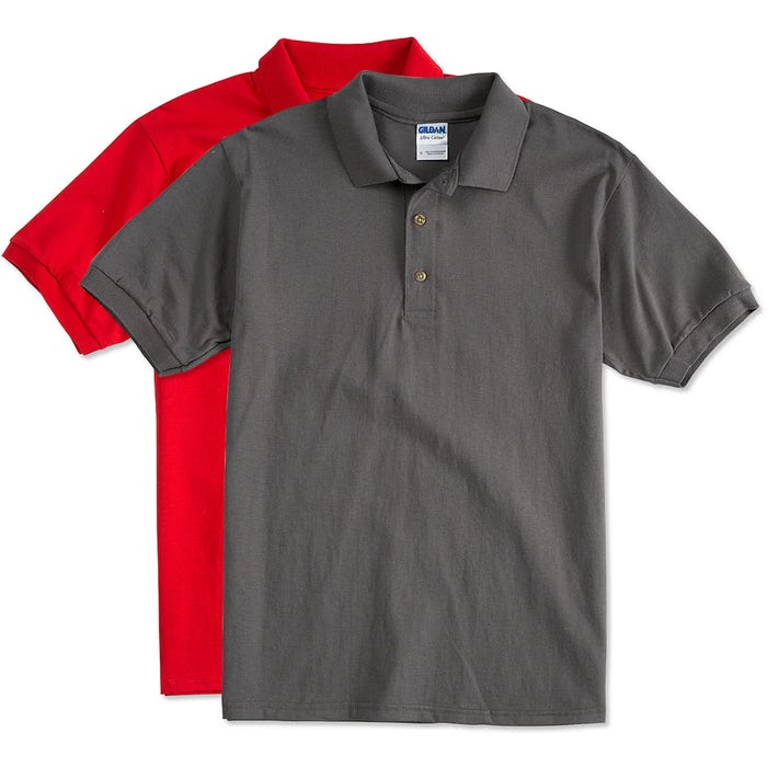 70e81422e Design Custom Printed Gildan Ultra Cotton Polo Shirts Online at ...