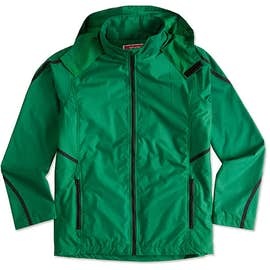 Team 365 Mesh Lined Hooded Jacket