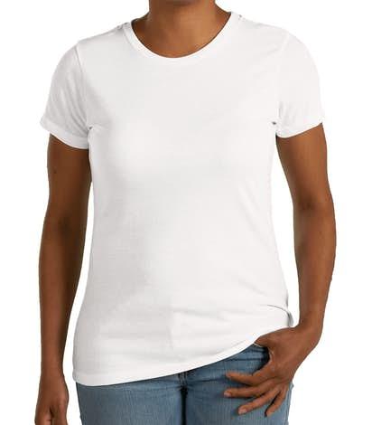 dc773592bbc3 Custom District Women's Tri-Blend T-shirt - Design Women's Short ...