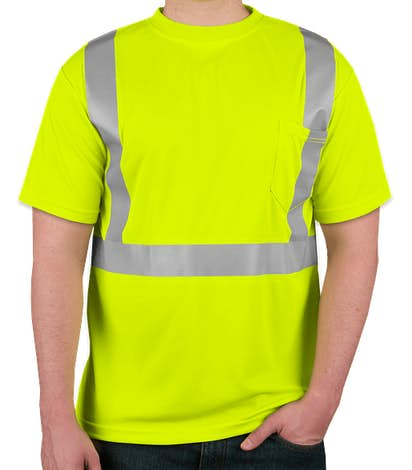 ML Kishigo Class 2 Performance Safety Shirt - Lime