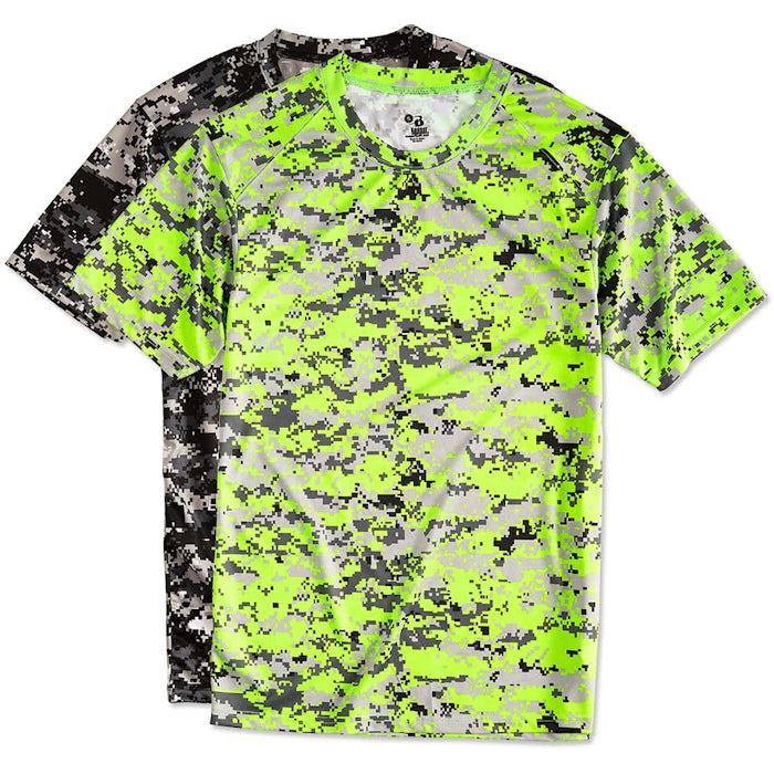 9cac45b3 Custom Badger Digital Camo Performance Shirt - Design Camouflage ...