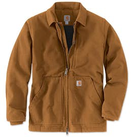 Carhartt Tall Washed Duck Sherpa-Lined Coat