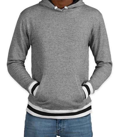 promo code 3601b 82d61 Custom J. America Varsity Pullover Hoodie - Design Hoodies ...