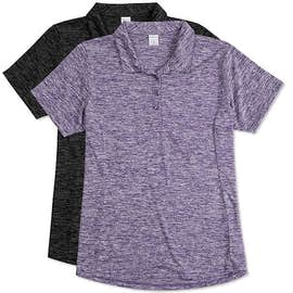 Sport-Tek Women's Electric Heather Performance Polo