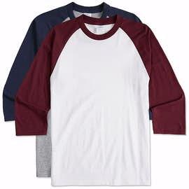 38603bf4 Custom Raglan T-shirts - Design Your Own at CustomInk.com