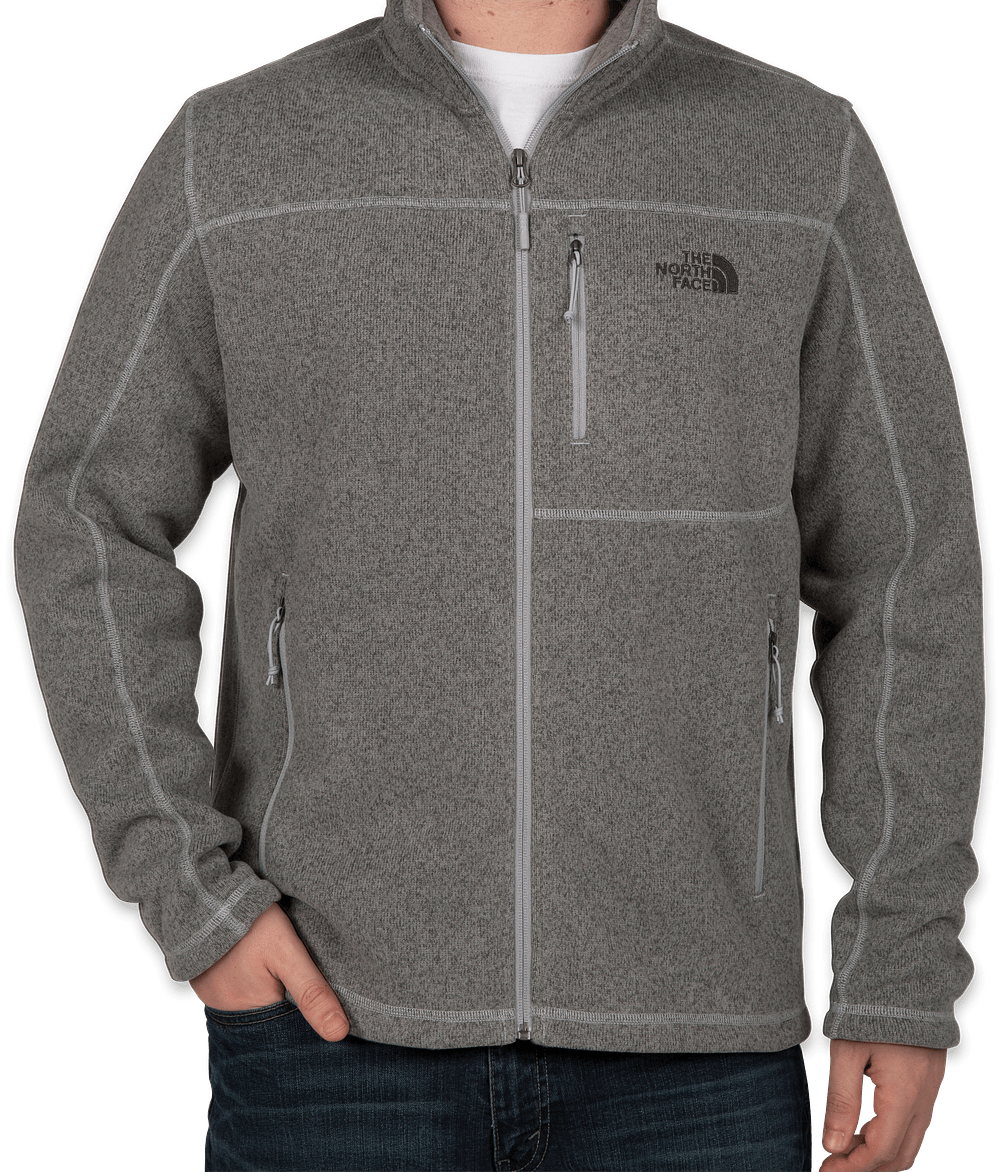 Design Custom Embroidered The North Face Sweater Fleece Jackets