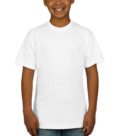 Hanes EcoSmart® Youth 50/50 T-shirt - White