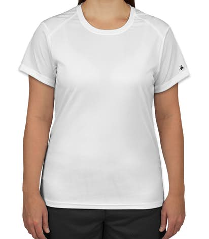 Badger B-Dry Women's Performance Shirt - White