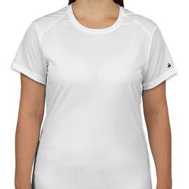 Badger B-Dry Women's Performance Shirt - Color: White