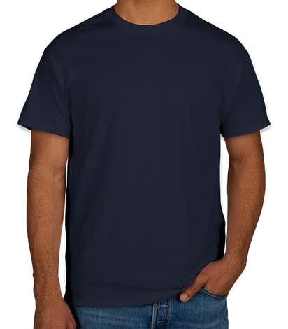 Gildan 100% Cotton T-shirt - Navy