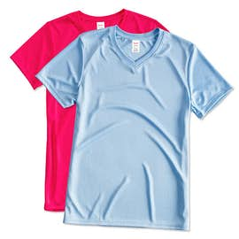 Hanes Women's Cool Dri V-Neck Performance Shirt