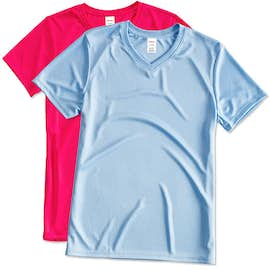 Hanes Women's Cool Dri V-Neck Performance Shirt