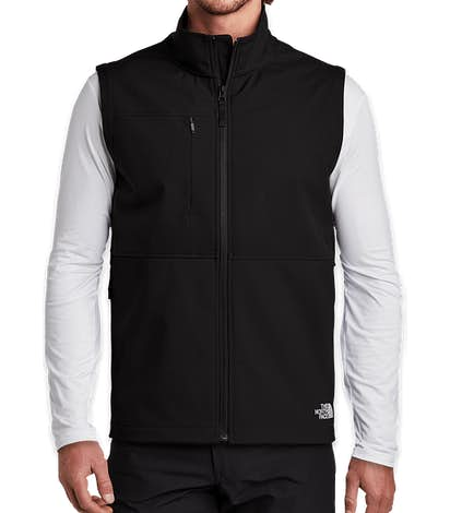 The North Face Castle Rock Soft Shell Vest - TNF Black