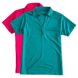 Port Authority Women's Silk Touch Performance Polo - Screen Printed