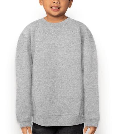 Russell Athletic Youth Dri Power® Crewneck Sweatshirt - Oxford