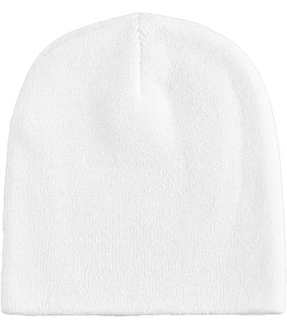 Bayside Knit USA Beanie - White