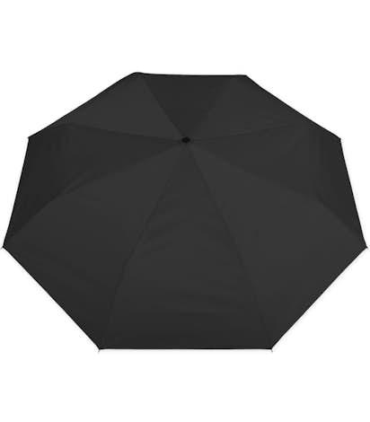 "Totes Auto Open Compact 43"" Umbrella - Black"
