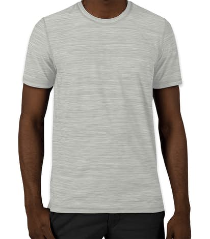 b878407c96fd Custom Adidas Tech Heathered Performance Shirt - Design Short Sleeve ...