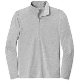 Sport-Tek Tri-Blend Quarter Zip Performance Shirt