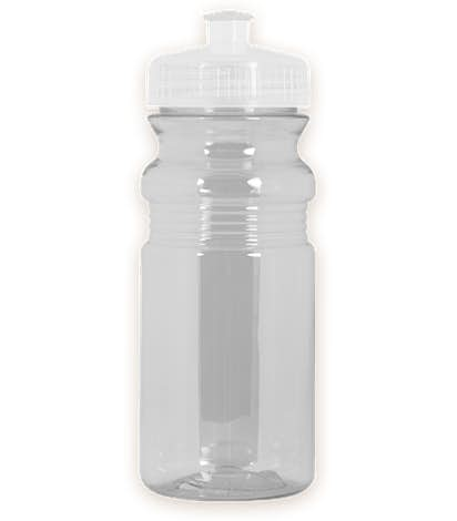 20 oz. Translucent Bike Water Bottle - Transparent Clear