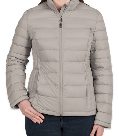 Weatherproof Women's Packable Down Jacket - Aluminum