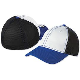 New Era Stretch Mesh Contrast Stitch Baseball Hat