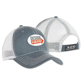 Oval Printed Patch Hat - Trucker