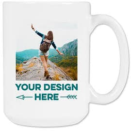 15 oz. Full Color Photo Mug