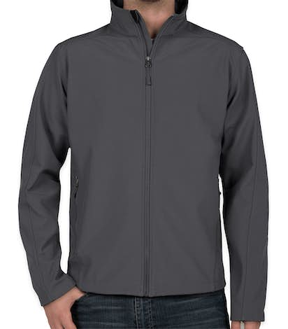 Port Authority Core Fleece Lined Soft Shell Jacket - Battleship Grey