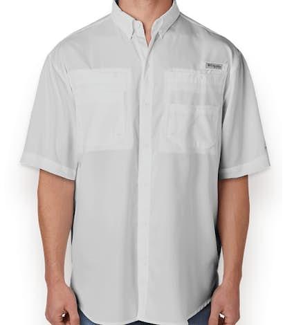 Columbia Tamiami Short Sleeve Shirt - Cool Gray