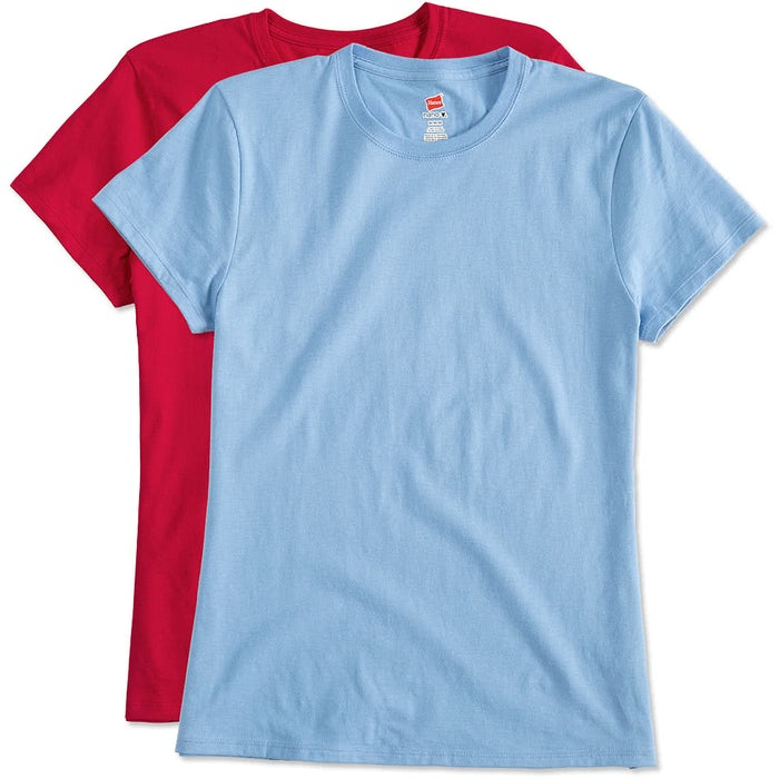 84d527d072b224 Custom Hanes Women's Nano-T - Design Women's Short Sleeve T-shirts ...