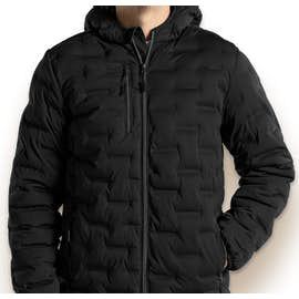 North End Loft Puffer Jacket - Color: Black / Carbon