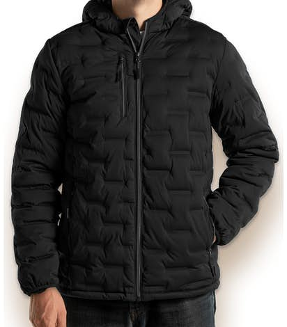 North End Loft Puffer Jacket - Black / Carbon