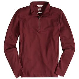 Cutter & Buck Advantage Charged Cotton Quarter Zip Pullover