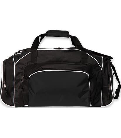 Holloway Tournament Duffel Bag - Black / Black / White