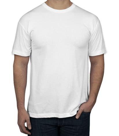 Canada - American Apparel 50/50 T-shirt - White