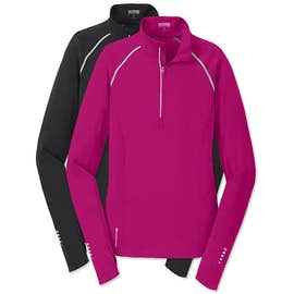 Ogio Endurance Women's Nexus Quarter Zip Performance Shirt
