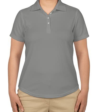 Callaway Women's Performance Polo - Smoked Pearl