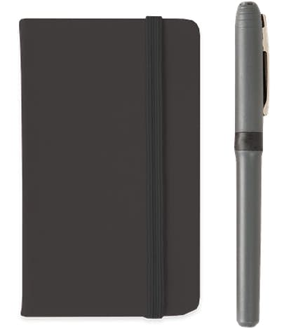 Hard Cover Mini Pocket Notebook - Black