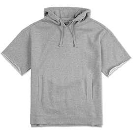 Charles River Short Sleeve Pullover Hoodie