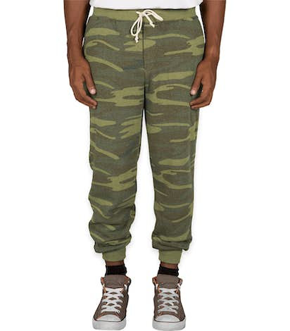 Alternative Apparel Camo Jogger Sweatpants - Camo