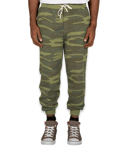 Alternative Apparel Camo Joggers - Camo