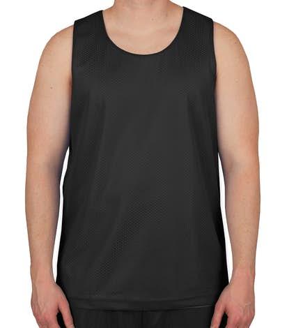 5656928551b5 ... Basketball Jerseys  Sport-Tek Mesh Reversible Tank. Sport-Tek Mesh  Reversible Tank - Black   White