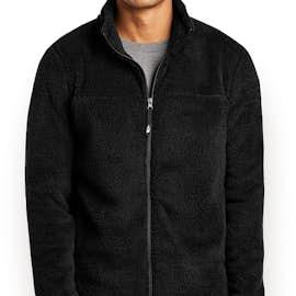 The North Face High Loft Full Zip Fleece Jacket - Color: TNF Black