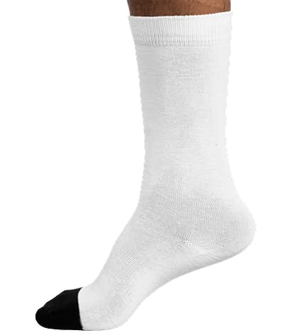 Sock Club Crew Socks - White