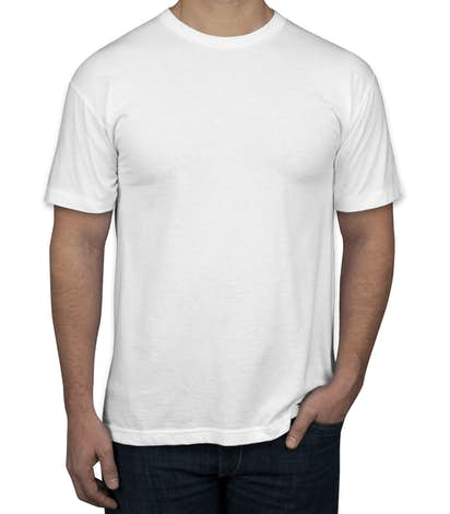 fe553fd2a Design Custom Printed American Apparel 50/50 T-Shirts Online at ...