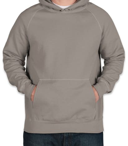 Hanes Nano Pullover Hoodie - Vintage Gray
